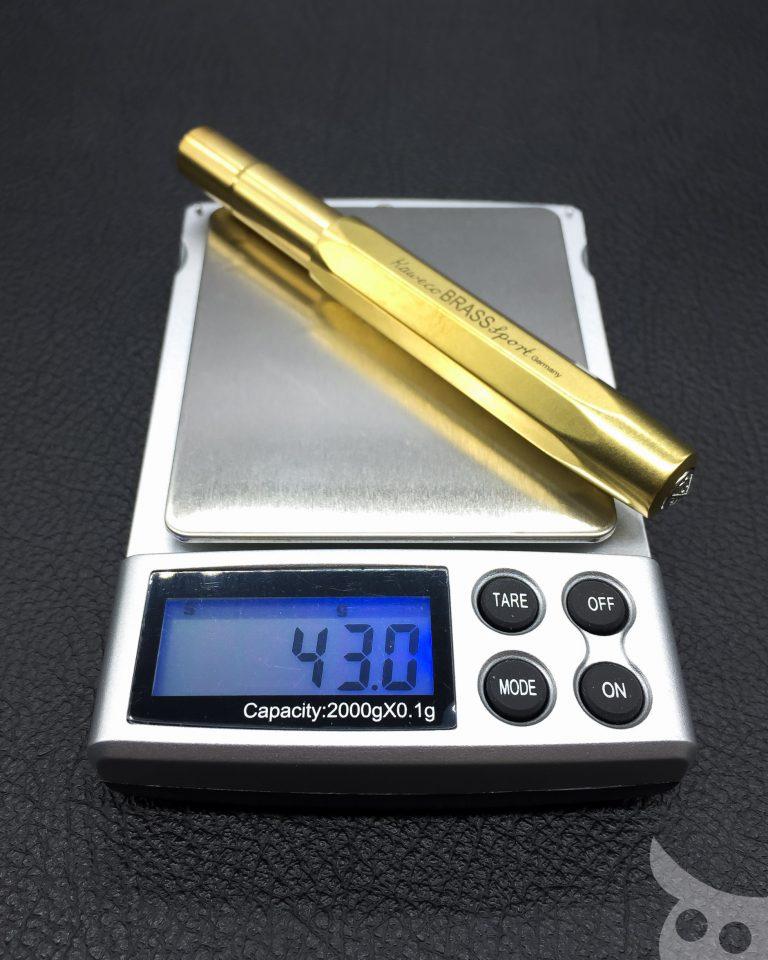 Kaweco Brass Sport-18