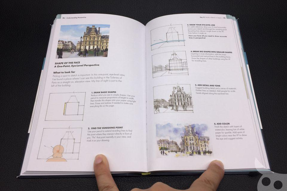 The Urban Sketching Handbook - Understanding Perspective-10