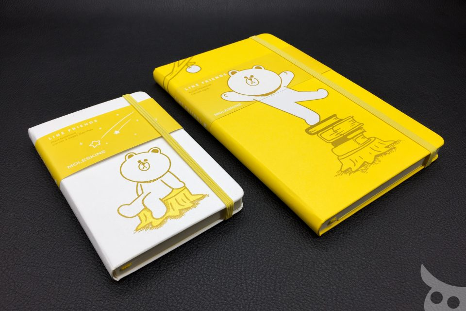 Moleskine Line Friends Brown Limited Edition 2015
