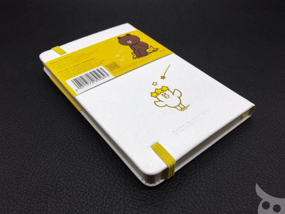 Moleskine Line Friends Brown-03