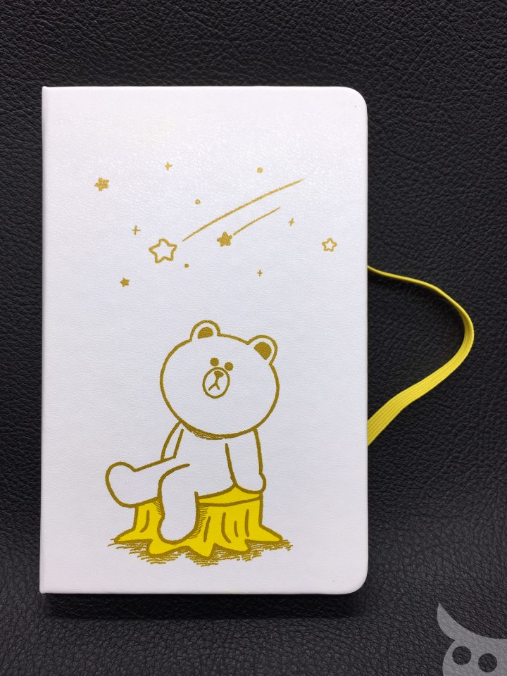 Moleskine Line Friends Brown-05