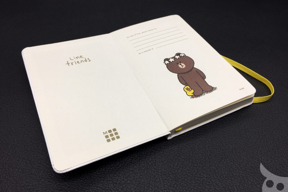 Moleskine Line Friends Brown-08