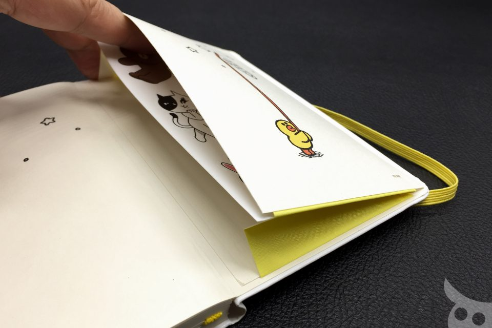 Moleskine Line Friends Brown-12