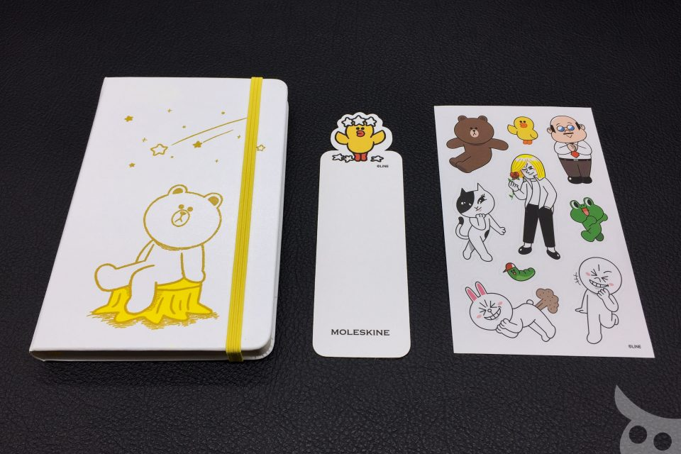Moleskine Line Friends Brown-13