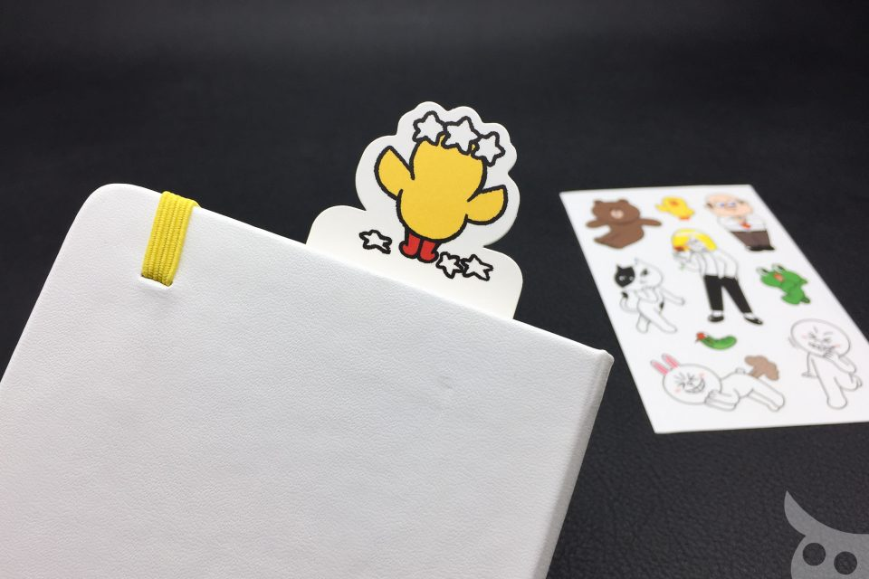 Moleskine Line Friends Brown-14