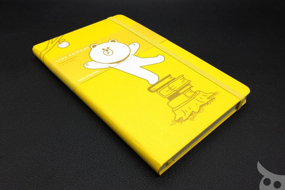 Moleskine Line Friends Brown-15