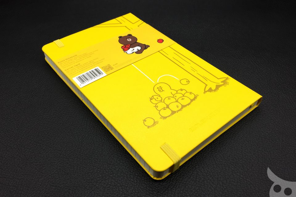 Moleskine Line Friends Brown-16