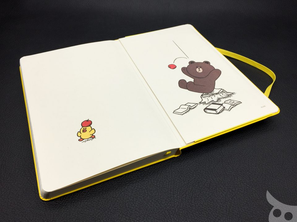 Moleskine Line Friends Brown-20