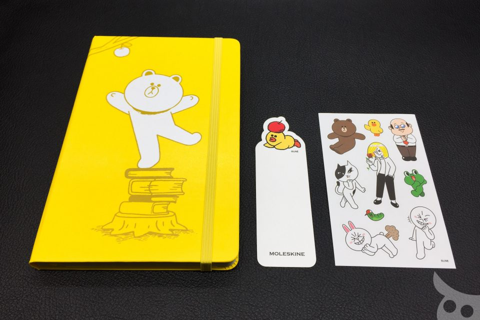 Moleskine Line Friends Brown-21