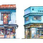Tokyo Storefronts สเก็ตช์ภาพหน้าร้าน สะท้อนเมืองโตเกียว