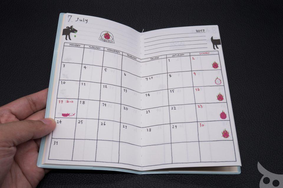 MIDORI Diary 2017-20