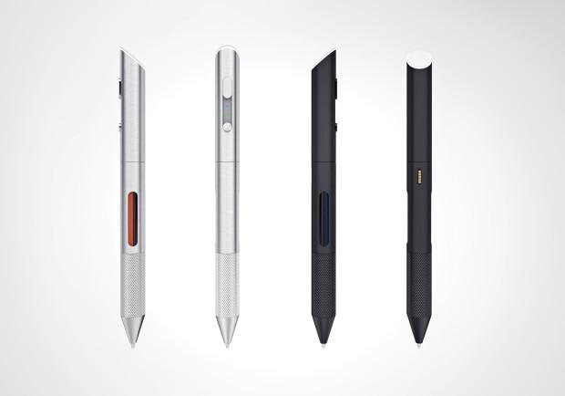 ปากกาเปลี่ยนสีได้ Cronzy Pen มีให้เลือก 2 สี สีเงิน และสีดำ ทั้งนี้ผู้ผลิตยังไม่เปิดให้เลือกสี ซึ่งจะเริ่มเปิดเมื่อระดมทุนเสร็จเรียบร้อย ที่มา : indiegogo.com