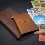 TRAVELER'S notebook 2017 DIARY บันทึกทุกวันไม่มีซ้ำ! สมุดนักเดินทางแห่งปี 2017